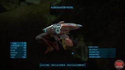 fallout 4 alien blaster pistol