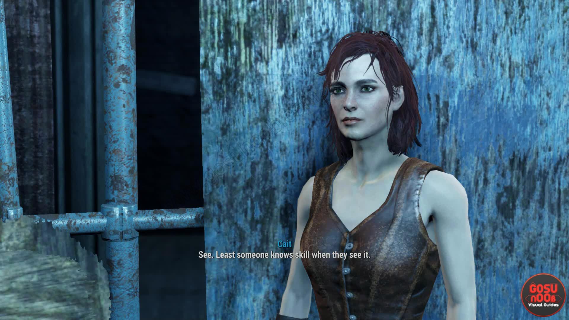 Fallout 4 Cait
