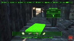 fallout 4 crafting bed