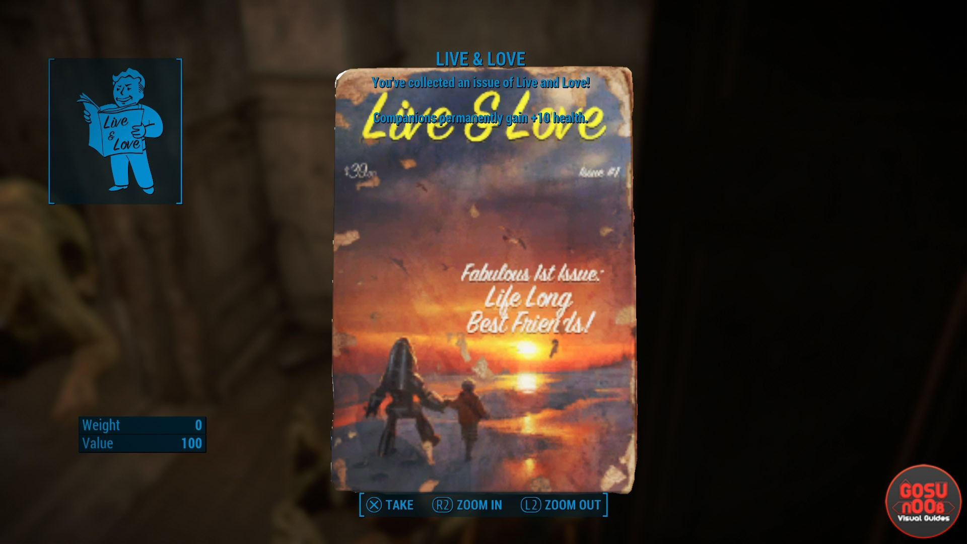 Live & Love Locations | Fallout 4