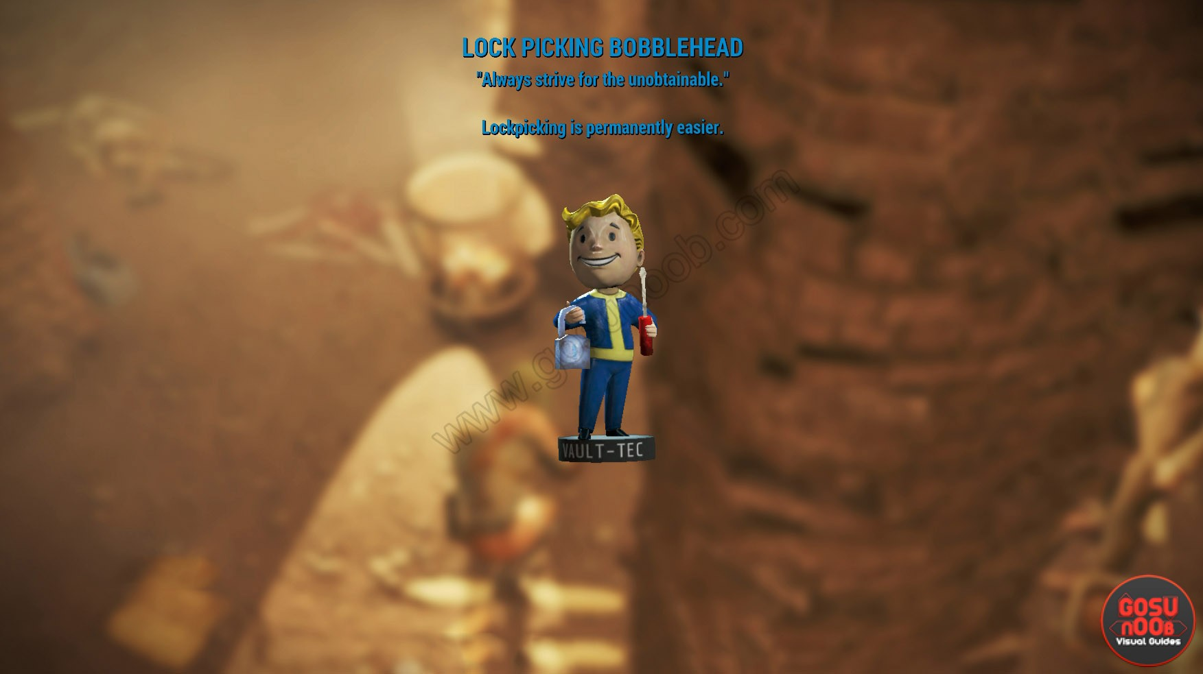 Lock Picking Bobblehead Fallout 4
