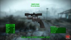 fo4 unique revolver eddie's peace