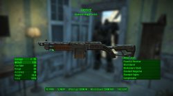 justice shotgun fallout 4