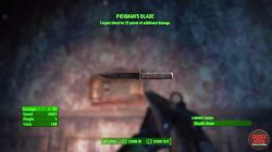 pickman's blade fallout 4