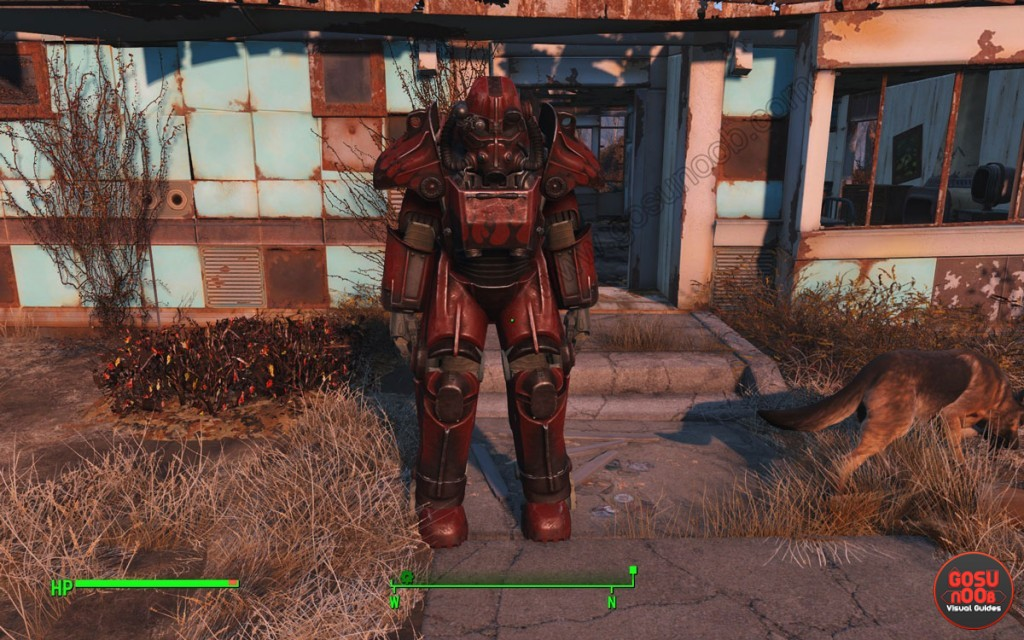 red power armor color