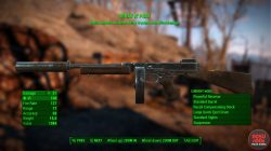 spray n pray machine gun fallout 4