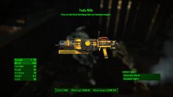 tesla rifle fo4 automatron dlc best weapons