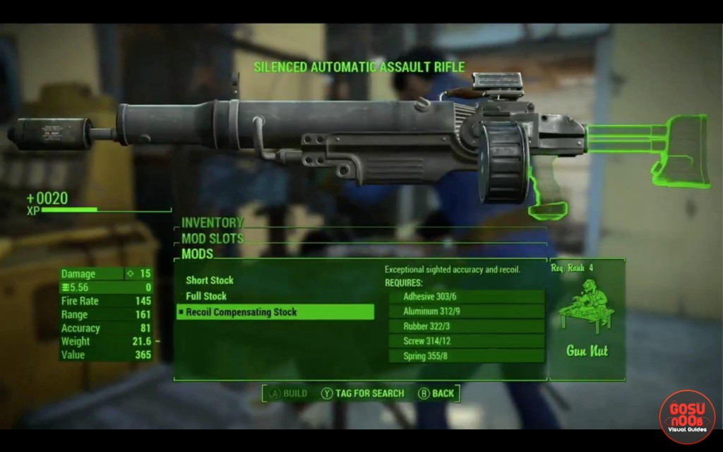 weapon mods customization fallout 4