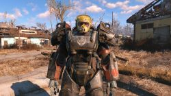 yellow flight helmet fallout 4