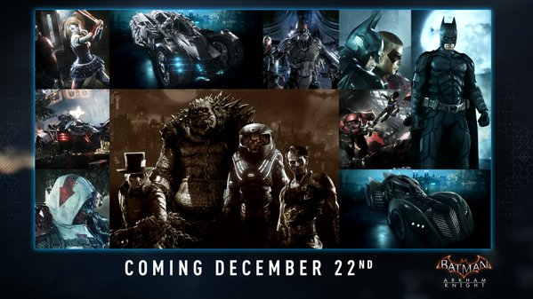 arkham knight dlc december