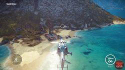 jc3 crashed airship secret