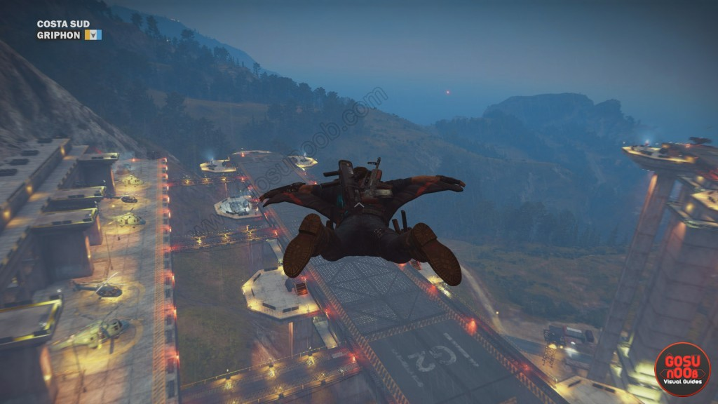 just cause 3 wingsuit tips
