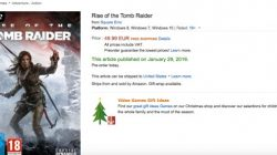 rise of the tomb raider release date