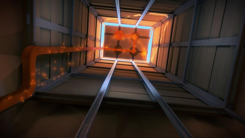Desert Ruins elevator activate laser beam trophy