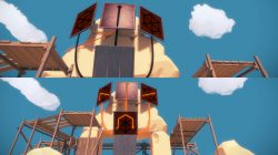 desert ruin puzzle 4 to 7 the witness