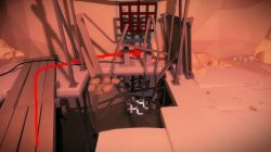 desert ruins elevator room path to puzzle 3 solution the witness