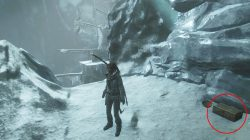 rise of the tomb raider glacial cavern hidden relic