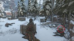 rottr explorer's satchel soviet camp