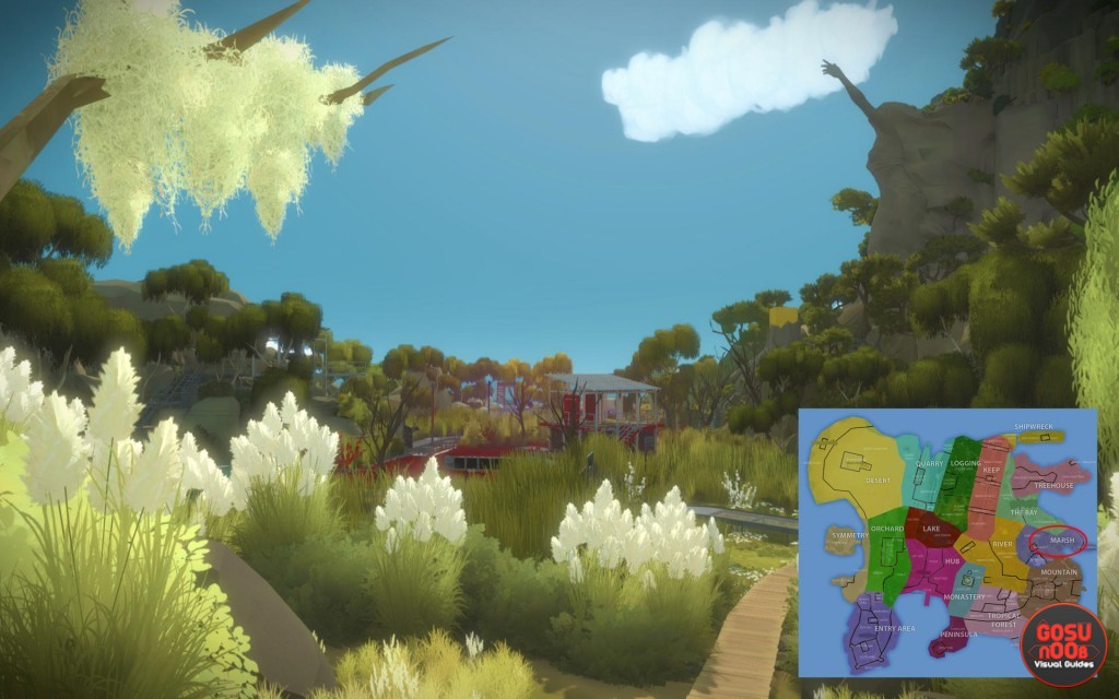 the witness marsh swamp puzzle solutions