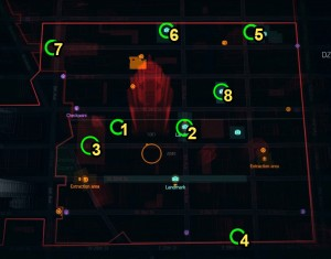 division dark zone loot chest map locations