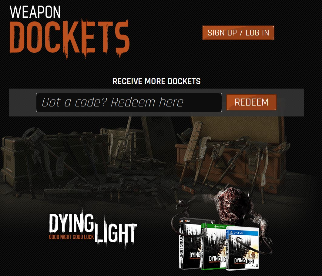 42 Dockets Code - Dying Light: The Following - Gosu Noob
