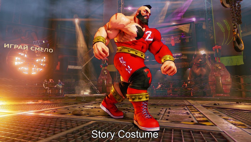 sf5 zangief costumes