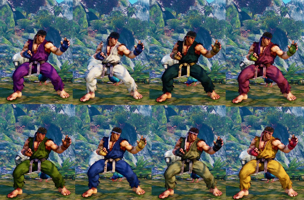 sfv costume colors unlock