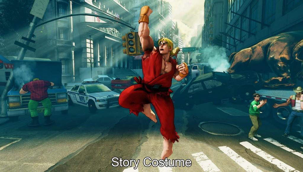 Alternate Costumes Street Fighter V