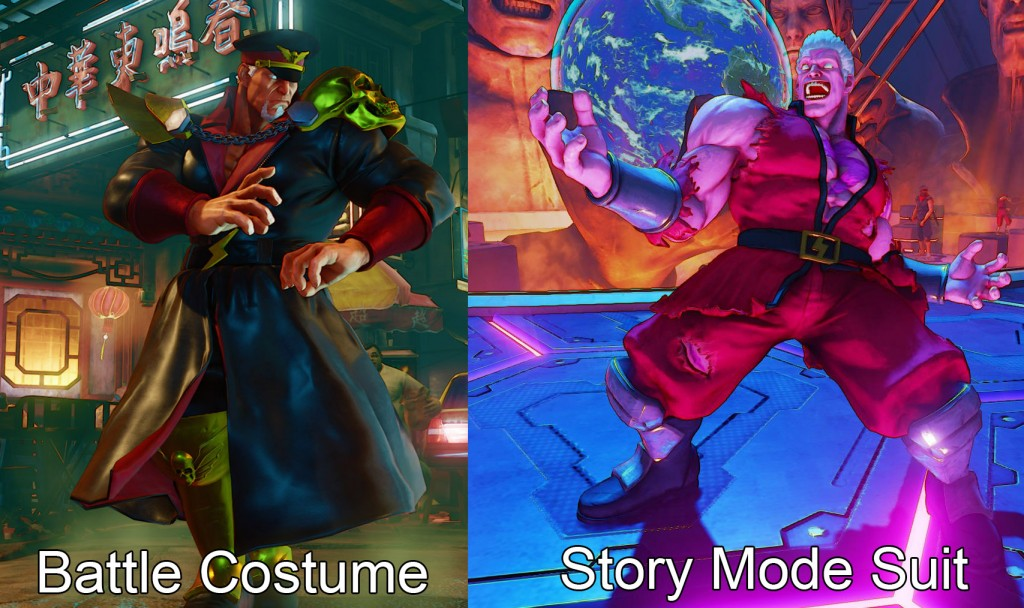 street fighter 5 bison outfits