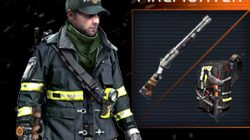 Firefighter The Division Shotgun Outfit
