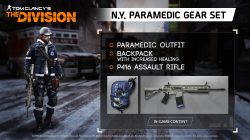 Paramedic Outfit Custom The Division Assault Rifle