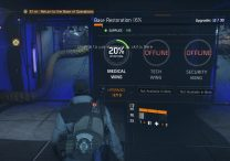 The Division Medical Tech Security Wings