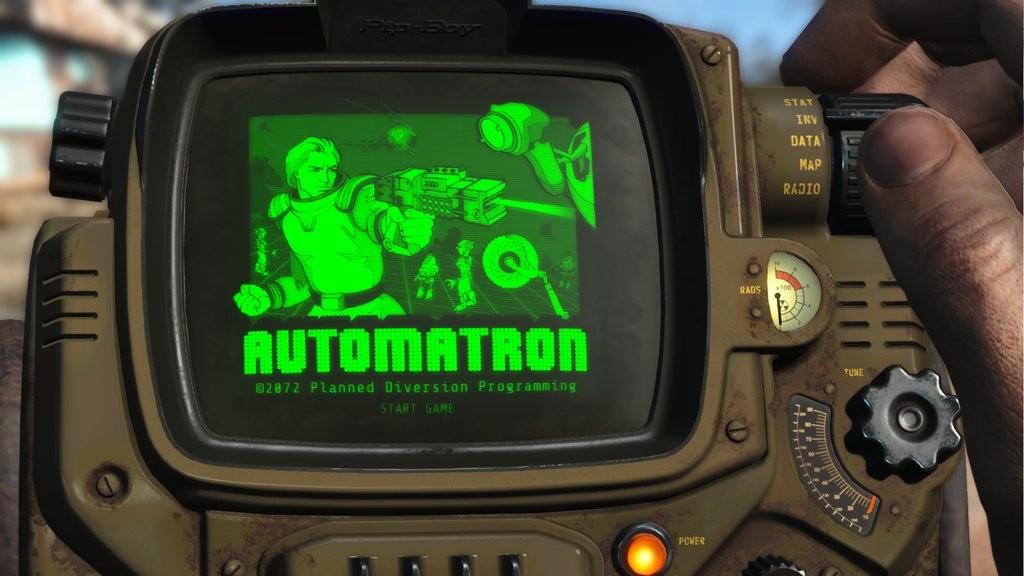 automatron dlc holotape game