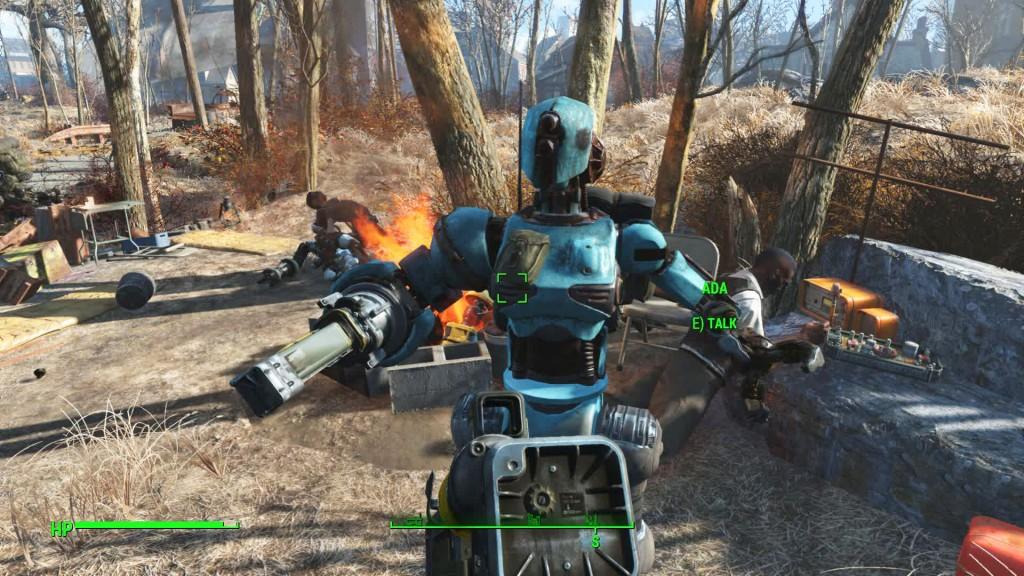 automatron mission start fallout 4