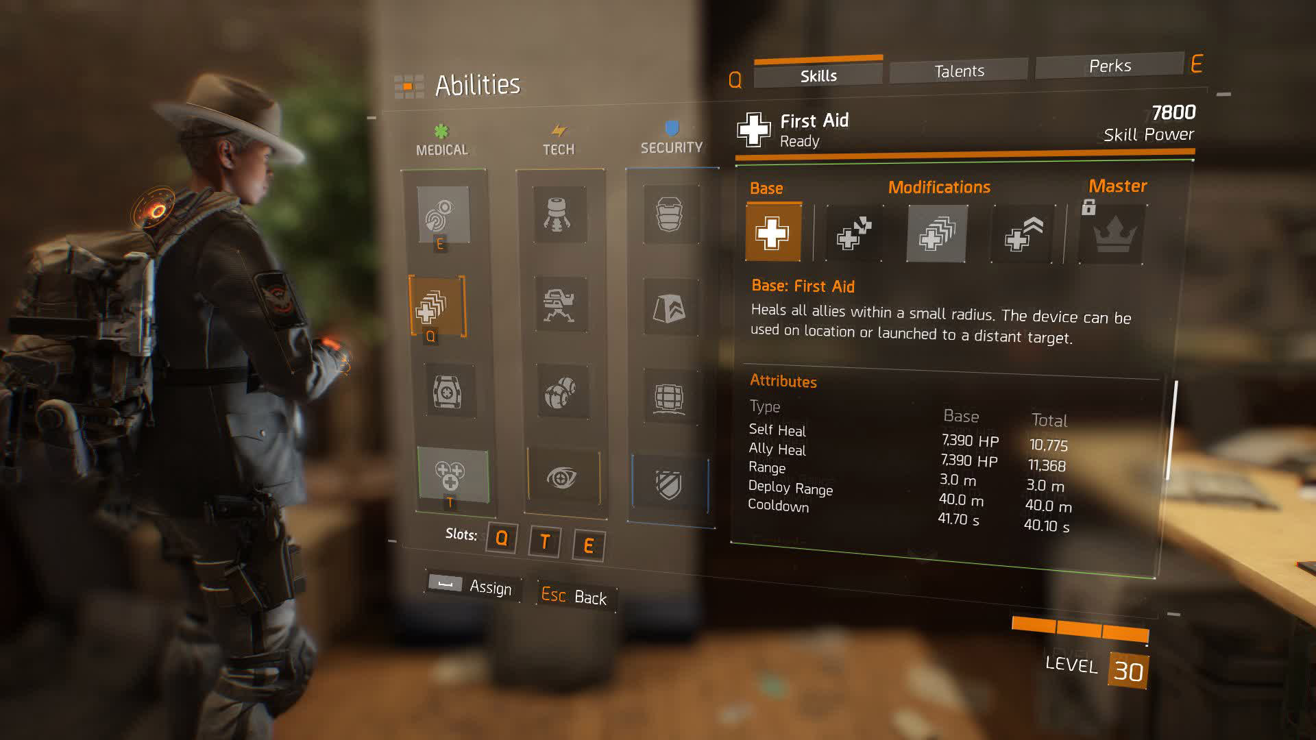 Best Builds Talents Skills The Division