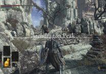 dark souls 3 archdragon peak secret area