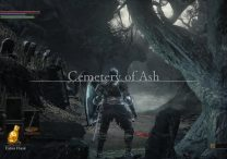 dark souls 3 cemetery of ash walkthrough