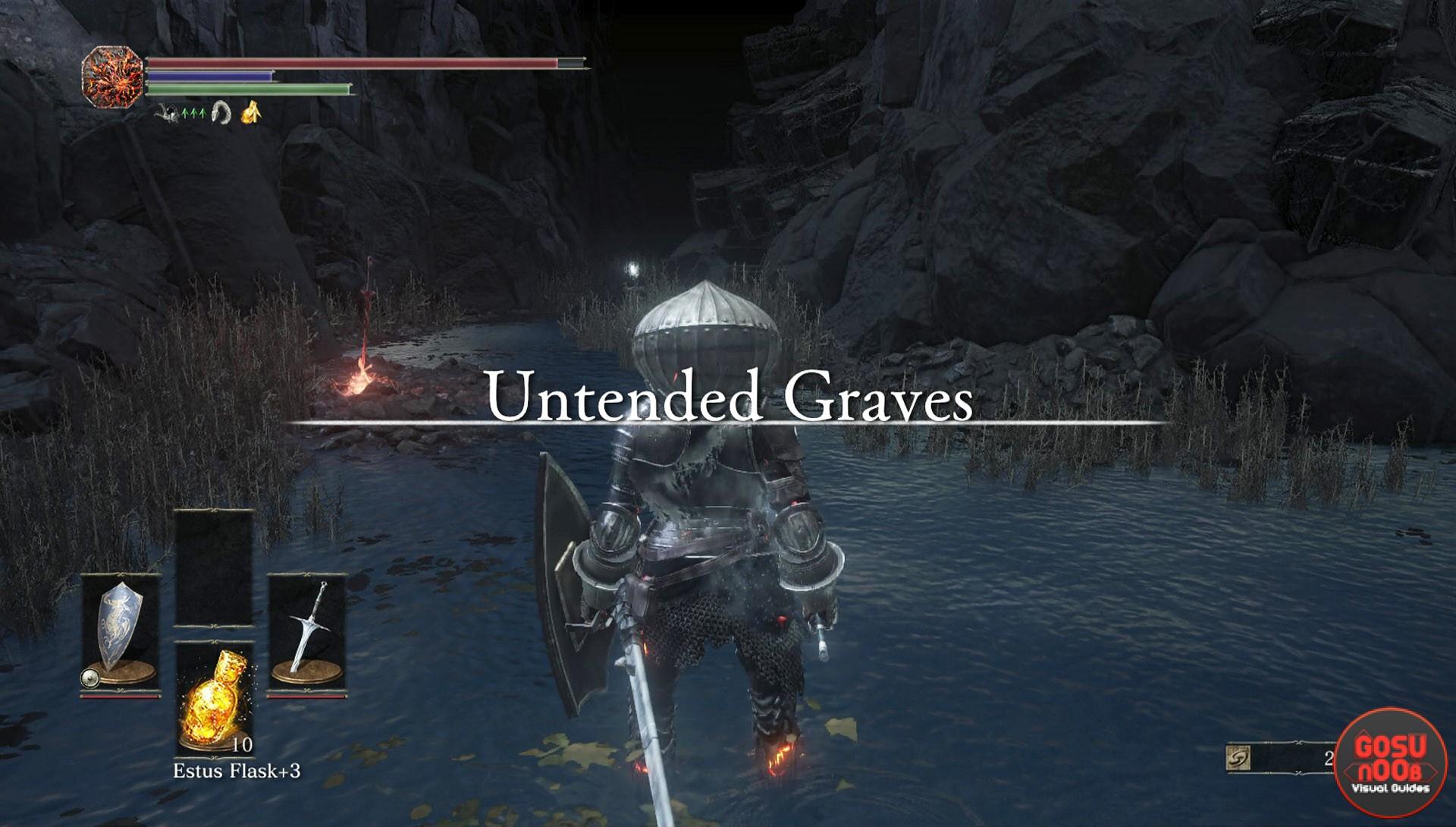 Untended Graves Secret Area Dark Souls 3 Gosu Noob