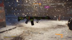 division tigerstripe neon weapon skin