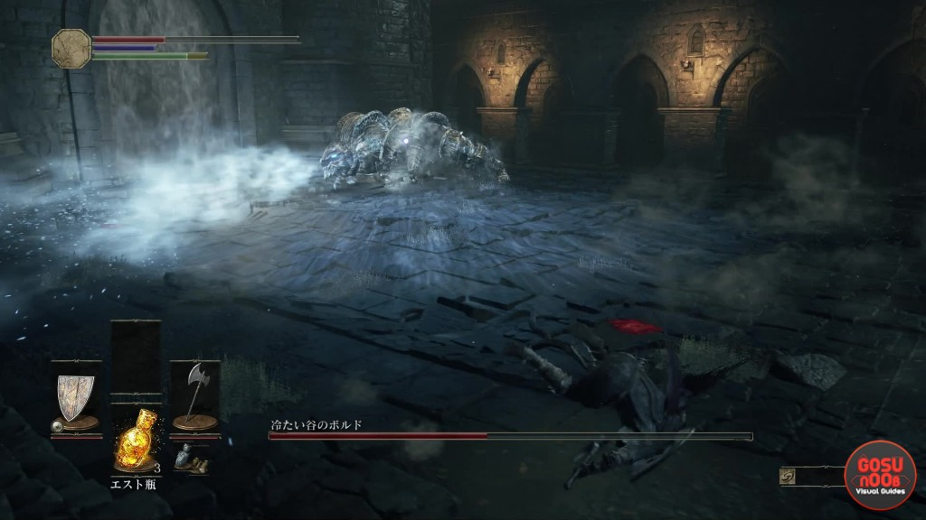 dks3 vordt ice boss fight