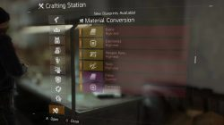 material conversion the division