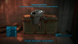 salvaged assaultron head fallout 4 weapon