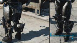 sinister leg plates automatron