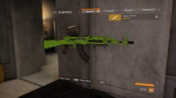 solid electric green weapon skin