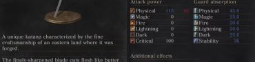 uchigatana weapon stats dark souls 3