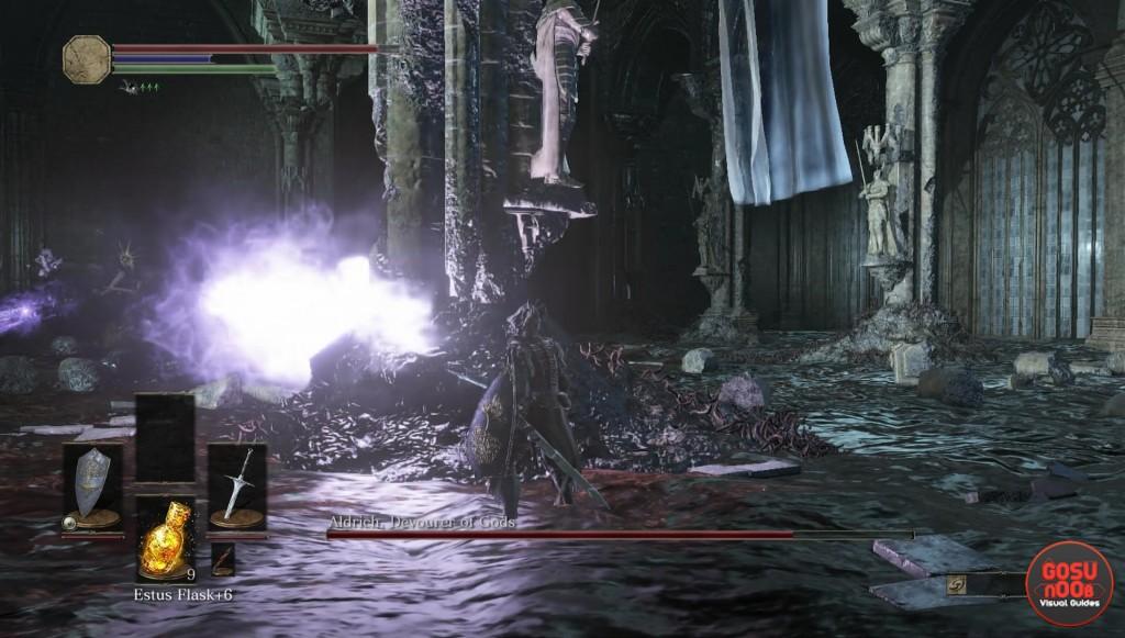 Aldrich Bolt Attack Dark Souls 3