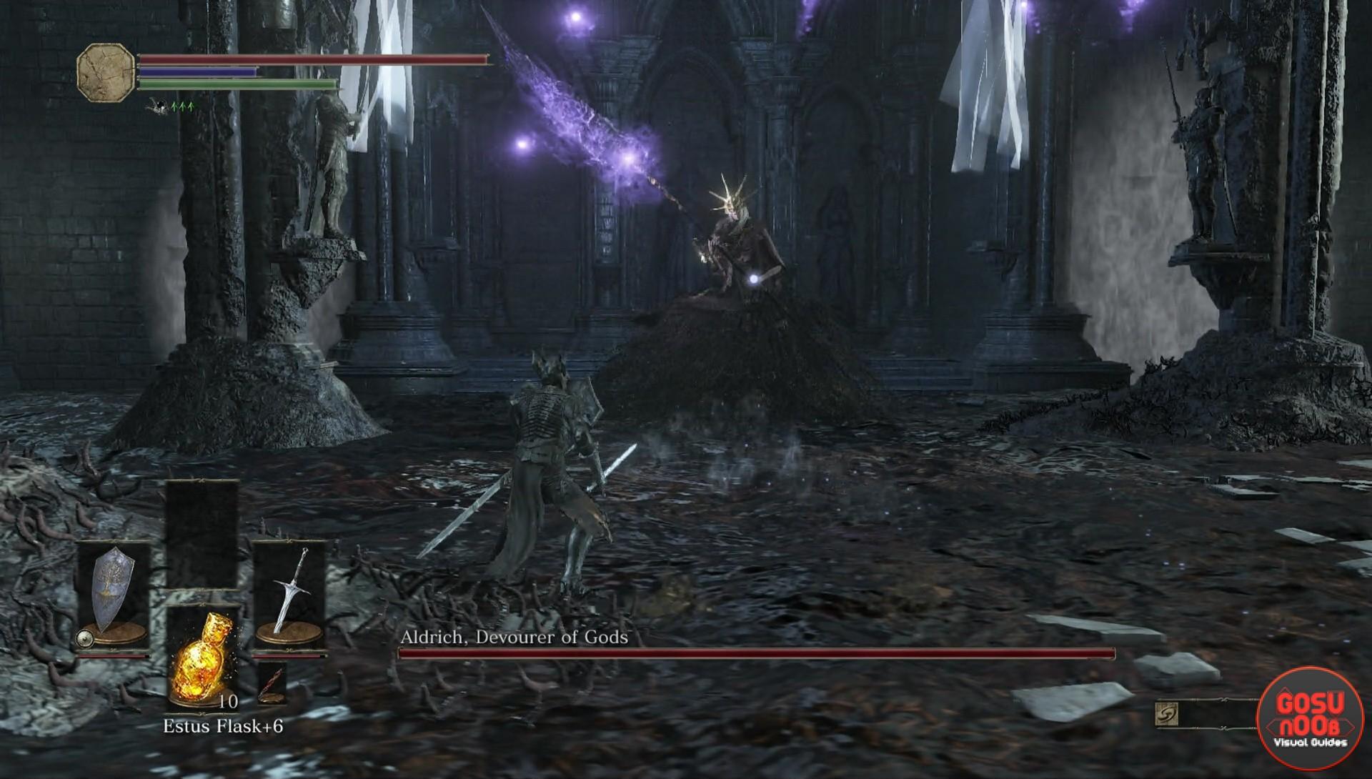 aldrich devourer of gods dark souls 3 gosu noob