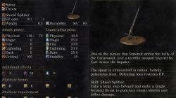Arstor's Spear Dark Souls 3