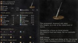Astora Greatsword Description Dark Souls 3