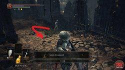 Astora Greatsword Exact Location Dark Souls 3